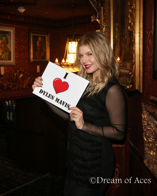 Fergie LOVES Dyles Mavis